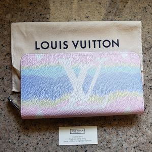 Louis Vuitton Zippy Wallet Escale pastel